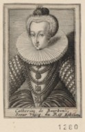 Image from Gallica about Catherine de Bourbon (1558-1604)