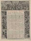 Almanach pour l'an mil six cens XIX (1619)