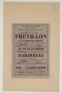 Image from Gallica about Fretillon ou La bonne fille