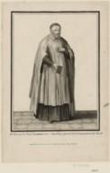 Portrait de Saint-Vincent-de Paul, en pied.