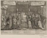 L'Heureux acouchement de la Reine de France de Monseigneur le Dauphin, né à Versailles