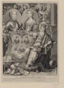 Portrait de Louis XV, de Marie Leczinska et de leurs enfants