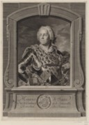 Image from Gallica about Maurice de Saxe (1696-1750)