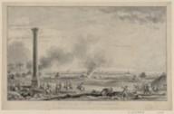 Vue de la prise d'Alexandrie par l'armée française aux ordres de Bonaparte le 4 prairial an 6  1798
