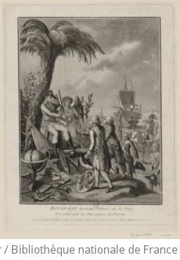 Bonaparte recevant l
