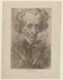 Hector Berlioz / Ad. Tournachon jeune, d après une charge d Etienne Carjat