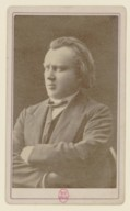 Image from Gallica about Johannes Brahms (1833-1897)