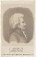 Bildung aus Gallica über Wolfgang Amadeus Mozart (1756-1791)