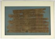 Deux passeports arabes sur papyrus datés de l'an 133 de l'hégire  Découverts en 1822