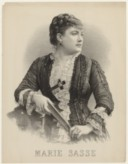 Image from Gallica about Marie Sasse (1834-1907)