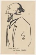 Image from Gallica about Erik Satie (1866-1925)