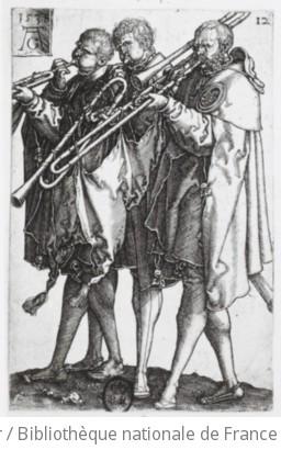 Trois joueurs de saqueboute / Aldegrever