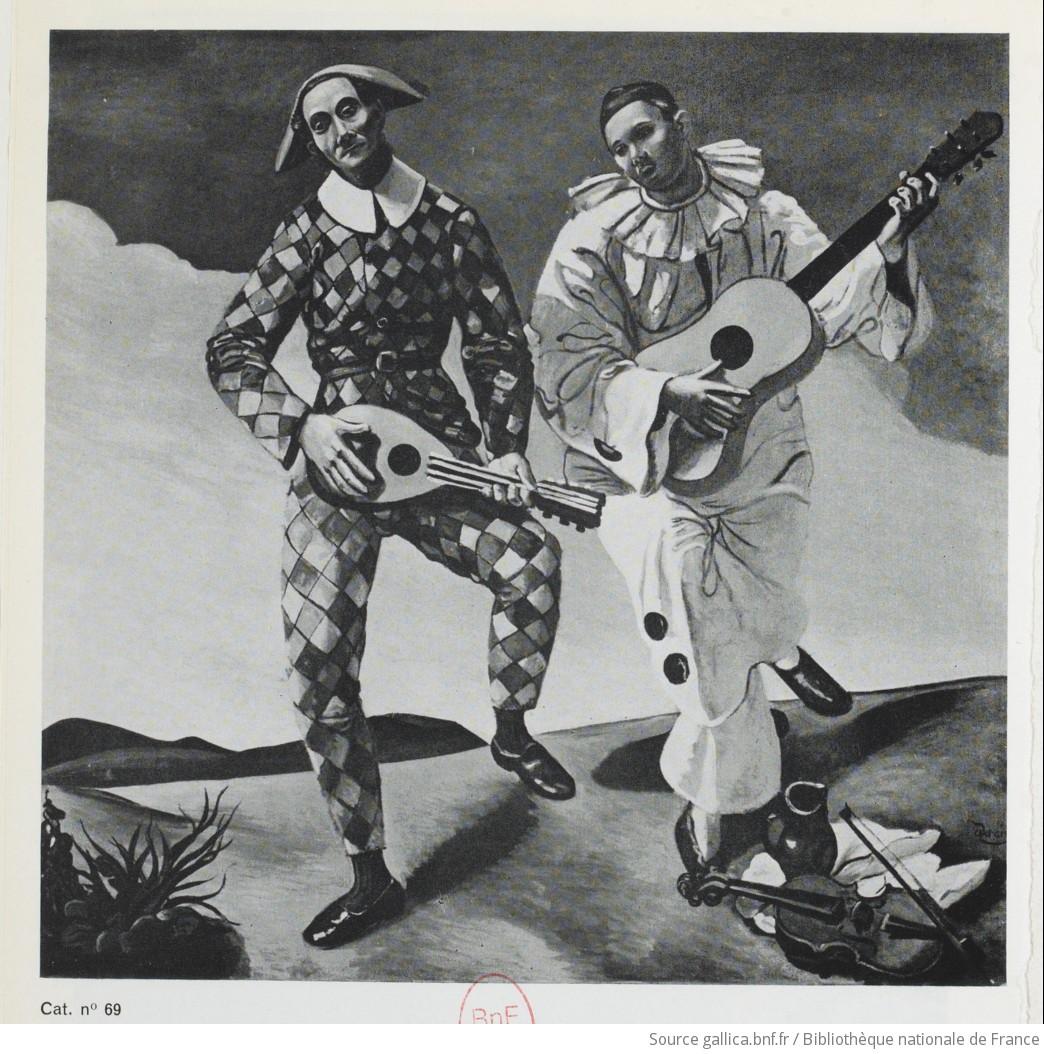 Arlequin et Pierrot / Derain   Gallica