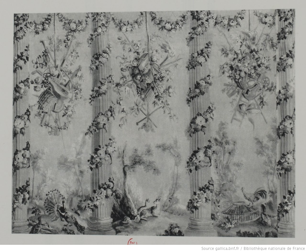 Panneau en tapisserire d 39 aubusson du xviiie si cle manufacture d 39 au - Manufacture d aubusson ...