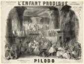 Image from Gallica about L'enfant prodigue. Acte 5. - No 26. Mes malheurs étaient grands. AWV 41