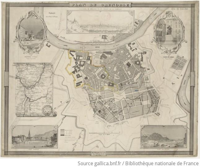 Plan De Grenoble Gallica
