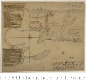Plan de Toulon et ses environs, avec les retranchements des ennemis, campements et lignes faites par l