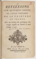 Image from Gallica about Étienne La Font de Saint-Yenne (1688-1771)