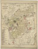 Plan de la ville de Jérusalem dressé en 1888  Abbé H. Nicole. 1888