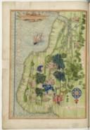 Cosmographie universelle, selon les navigateurs tant anciens que modernes. Amérique - Terre du Brésil  G. le Testu. 1555