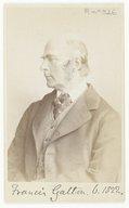Illustration de la page Francis Galton (1822-1911) provenant de Wikipedia