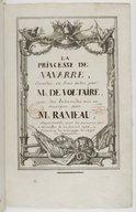 Illustration de la page La princesse de Navarre. RCT 54 provenant de Wikipedia