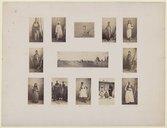 Tombeaux des Califes et types égyptiens  G. Le Gray. 1862