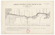 Plans de la Compagnie universelle du canal maritime de Suez  1862-1928