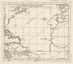 Carte des routes de Mr. de la Condamine tant par mer que par terre dans le cours du voyage à l'Equateur  J.B. Bourguignon d'Anville. 1749