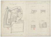 Ordnance Survey of Jerusalem. Plan of the Citadel (Al Kala)  1865