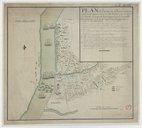 Plan de l'action de Glocester entre un parti ameriquoin d'environ 350 hommes sous le Genal Lafayette 1777