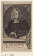 Bildung aus Gallica über Johann Georg Abicht (1672-1740)