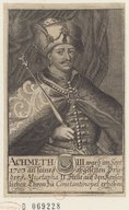 Image from Gallica about Ahmed III (sultan ottoman, 1673-1736)