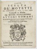 Bildung aus Gallica über Orazio Benevoli (1605-1672)