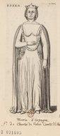 Illustration de la page Marie d'Espagne de la Cerda Alençon (comtesse d', 1319-1379) provenant de Wikipedia