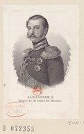 Image from Gallica about Alexandre II (empereur de Russie, 1818-1881)