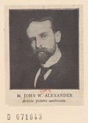 Illustration de la page John White Alexander (1856-1915) provenant de Wikipedia