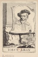 Bildung aus Gallica über Jost Ammann (1539-1591)