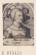 Image from Gallica about Amalasonthe (reine des Ostrogoths, 0498-0535)