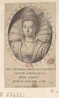 Image from Gallica about Isabella Andreini (1562-1604)
