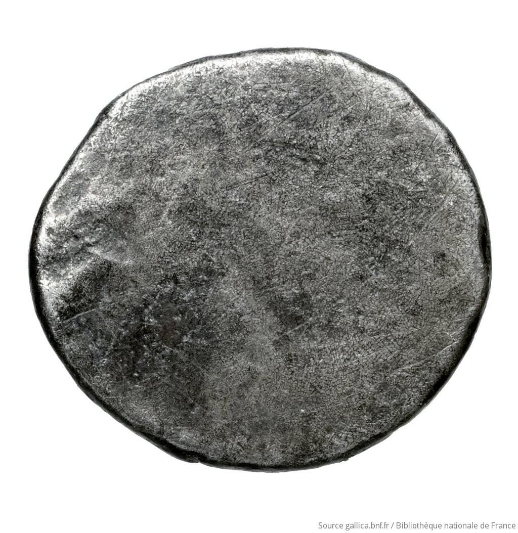 Οπισθότυπος 'SilCoinCy A4522, Fonds général, acc.no.: Babelon 643. Silver coin of king Uncertain king of Kition or Amathous 525 - 480 BC. Weight: 1.46g, Axis: -, Diameter: 12mm. Obverse type: Lion lying left. Obverse symbol: -. Obverse legend: - in -. Reverse type: Smooth. Reverse symbol: -. Reverse legend: - in -. 'Catalogue des monnaies grecques de la Bibliothèque Nationale: les Perses Achéménides, les satrapes et les dynastes tributaires de leur empire: Cypre et la Phénicie'.