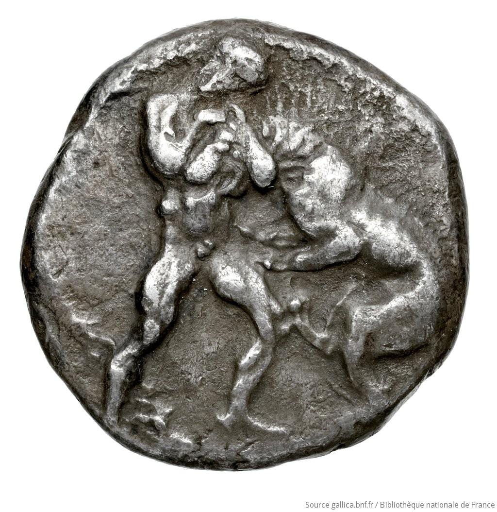 Εμπροσθότυπος Αβέβαιο κυπριακό νομισματοκοπείο, Αρι(-), SilCoinCy A4588