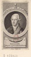 Illustration de la page Charles Frédéric Alexandre Anspach-Bayreuth (margrave d', 1736-1806) provenant de Wikipedia