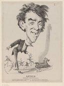 Illustration de la page Arthur (comique, 18..-18..) provenant de Wikipedia