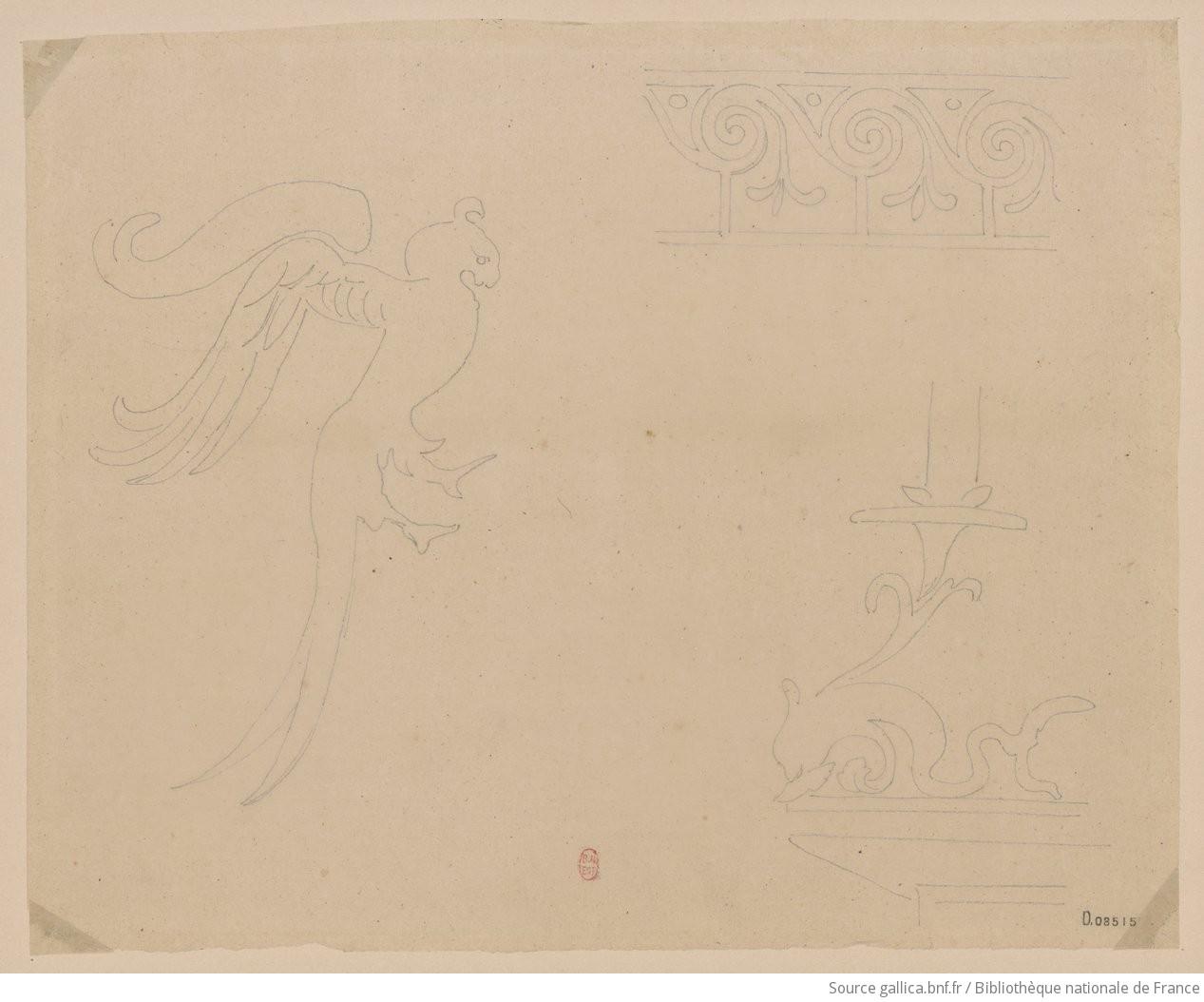 Voyage en italie 1824 1830 d tails de peintures for Peintures decoratives