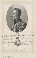 Illustration de la page Louis Antoine d'Artois Angoulême (duc d', 1775-1844) provenant de Wikipedia