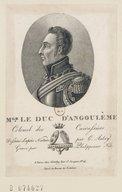 Image from Gallica about Louis Antoine d'Artois Angoulême (duc d', 1775-1844)