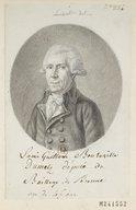 Bildung aus Gallica über Louis-Guislain Bouteville du Metz (1746-1821)