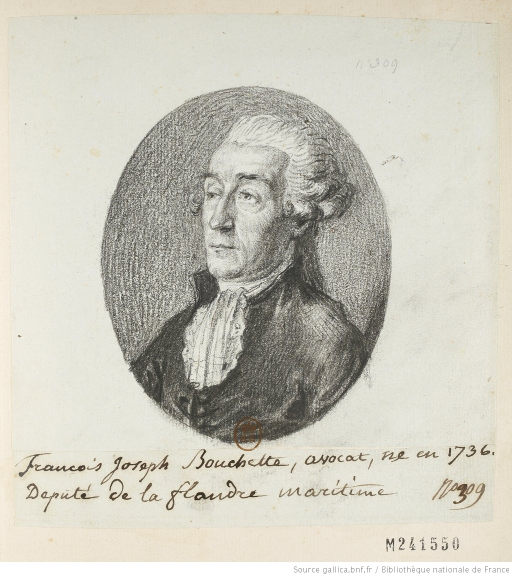 Francois Joseph Bouchette, avocat, : ne en 1736. Deputé de la flandre maritime : [dessin] / [non identifié] - 1