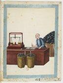 Charbon de terre. Exploitation de la mine de charbon <br> Atelier Yoeequa. 1830-1840
